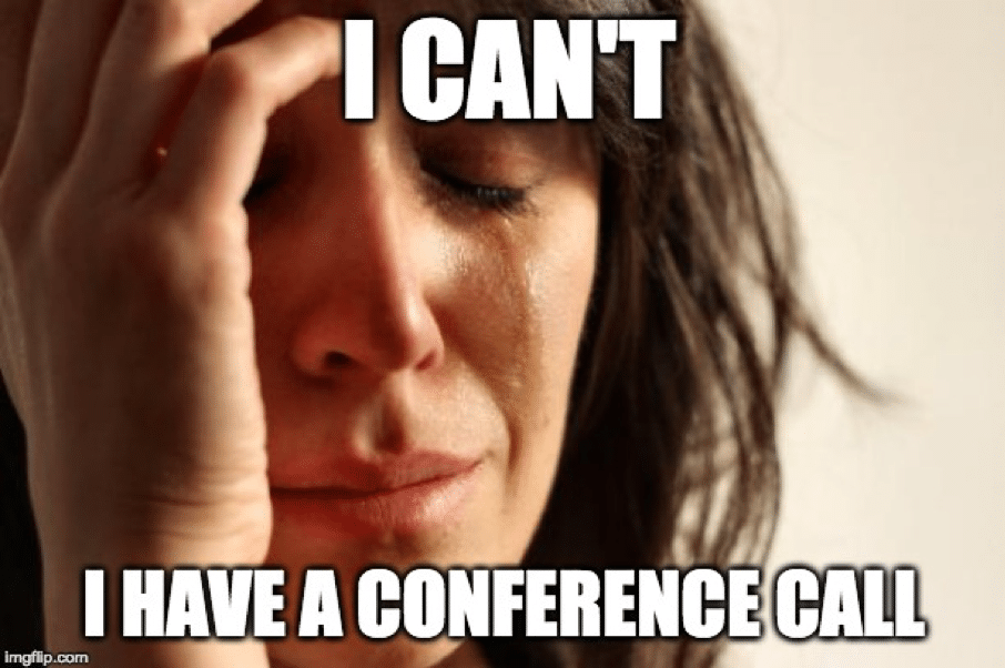 conference call humor